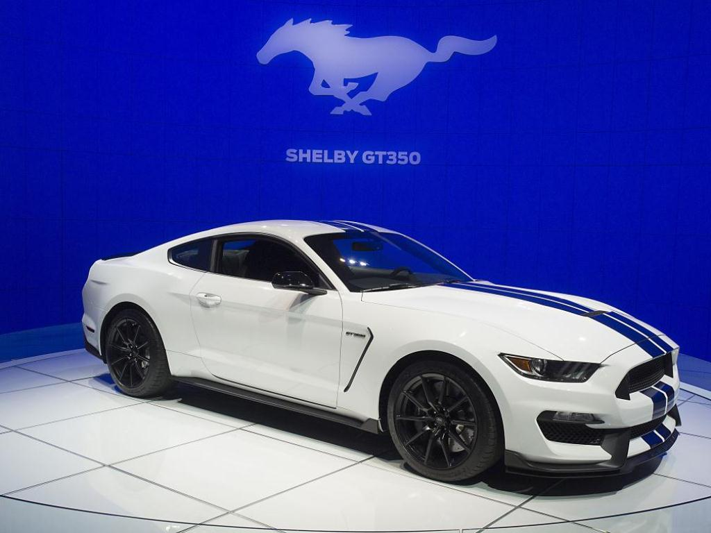 Ford Mustang Shelby GT350 - Los Angeles Auto Show 2014
