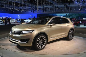 Lincoln MKX - Los Angeles Auto Show 2014