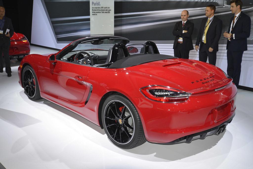 Porsche Boxster GTS - Los Angeles Auto Show 2014
