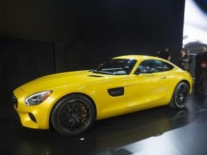 Mercedes AMG GT - Los Angeles Auto Show 2014