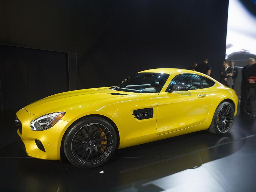 Mercedes AMG GT - Los Angeles Auto Show 2014