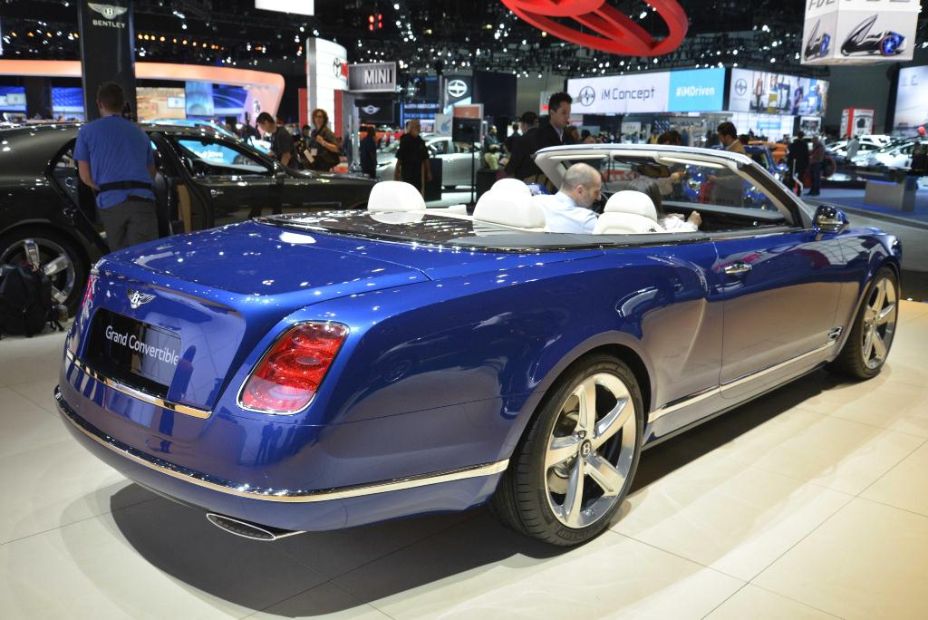 Bentley Grand Convertible - Los Angeles Auto Show 2014