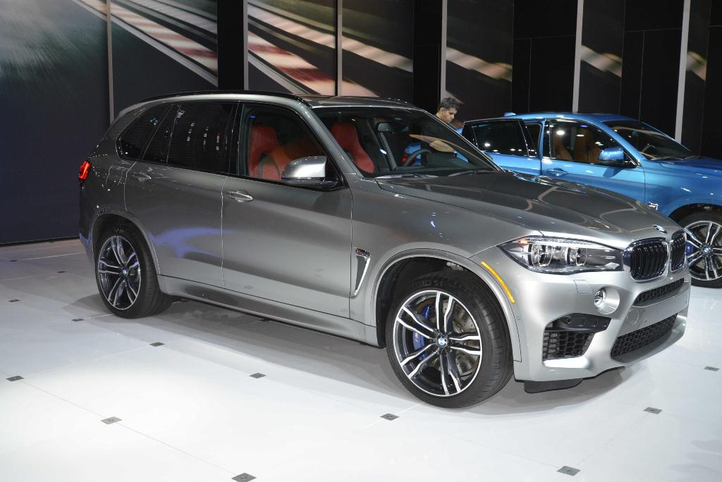 BMW X5M et X6M - Los Angeles Auto Show 2014