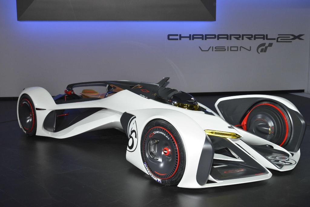 Chevrolet Concept Chaparral 2X Vision Gran Turismo - Los Angeles Auto Show 2014