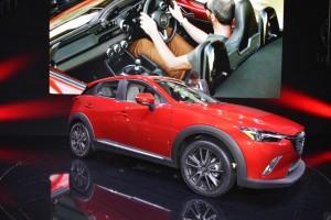 Mazda CX-3 - Los Angeles Auto Show 2014