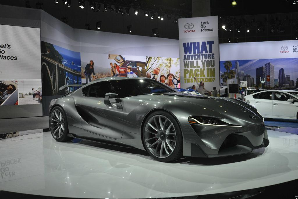 Toyota FT-1 - Los Angeles Auto Show 2014