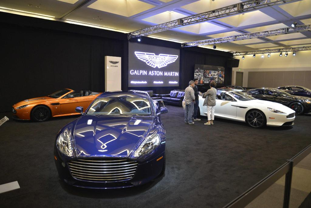 Aston-Martin - Los Angeles Auto Show 2014