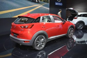Mazda CX-3 - Los Angeles Auto Show 2014