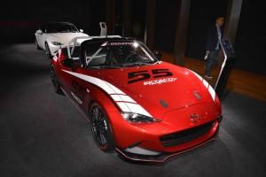 Mazda MX-5 Cup - Los Angeles Auto Show 2014