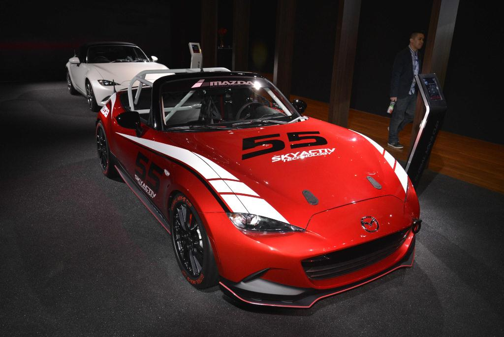 Mazda MX-5 Cup - Los Angeles Auto Show 2014
