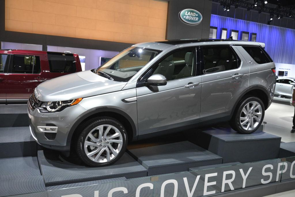 Land Rover Discovery - Los Angeles Auto Show 2014