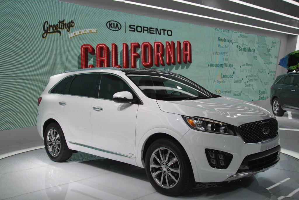 Kia Sorento - Los Angeles Auto Show 2014