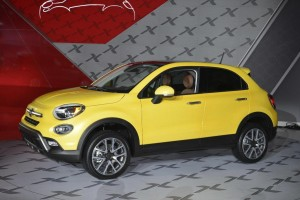 Fiat 500X - Los Angeles Auto Show 2014