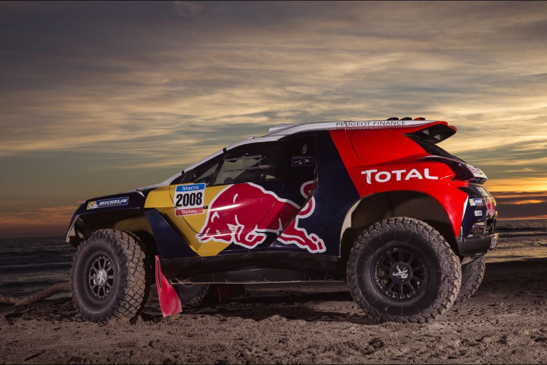 peugeot 2008 dkr en route pour le dakar. Black Bedroom Furniture Sets. Home Design Ideas