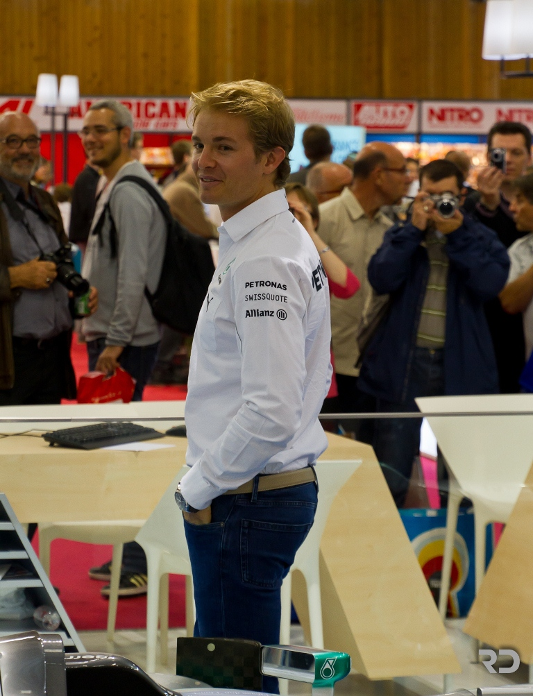 Nico Rosberg - Mercedes - Mondial de l'Automobile de Paris 2014
