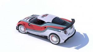Alfa Romeo 4C Lazzarini