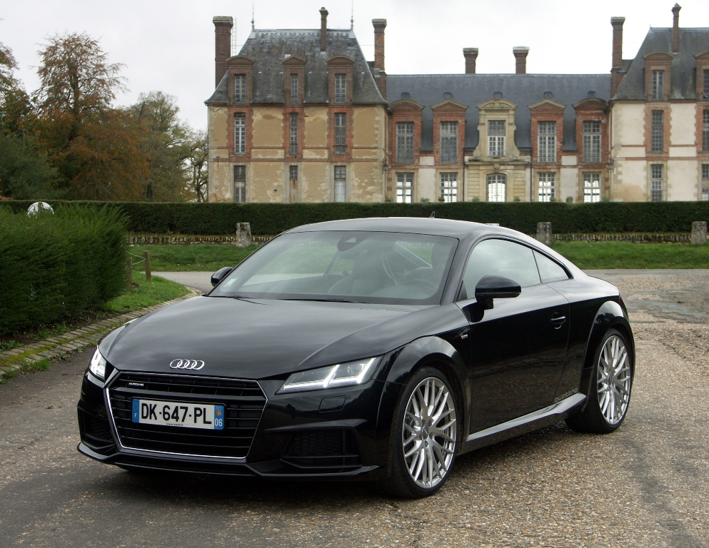 audi tt 2 0l tfsi 230 ch fausse extravertie. Black Bedroom Furniture Sets. Home Design Ideas