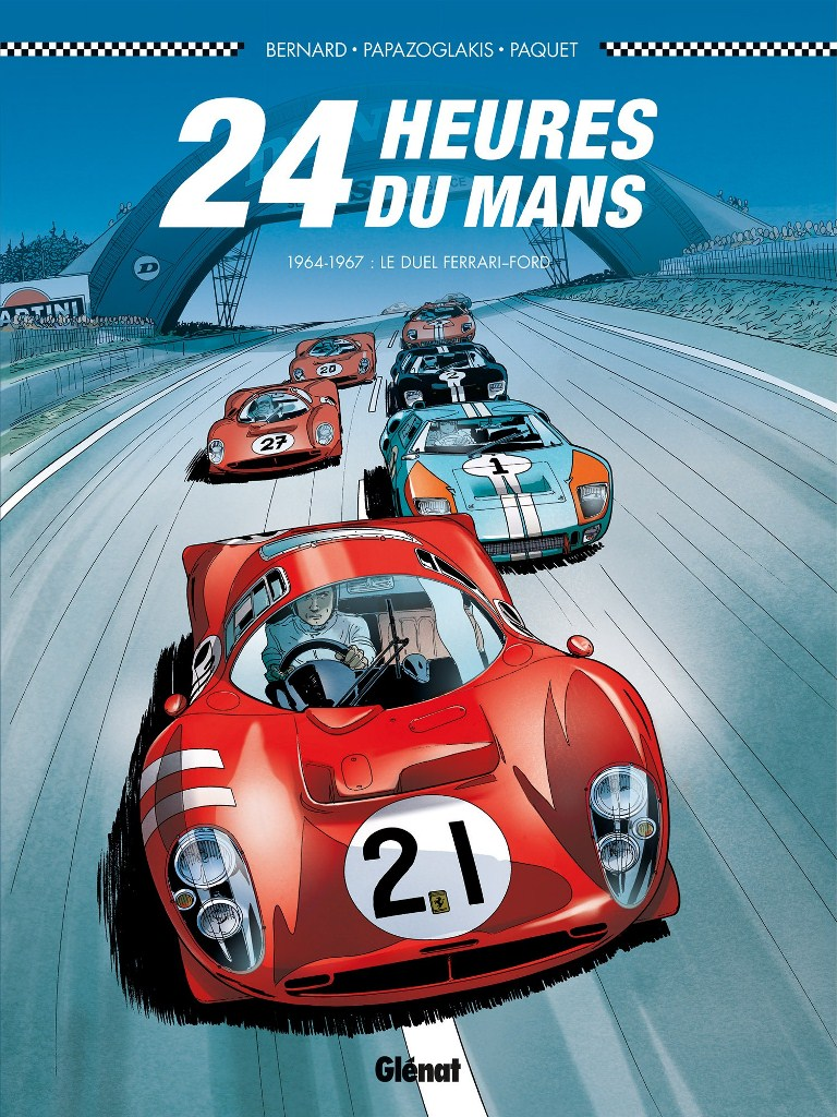 24 heures du mans 1964 1967 le duel ferrari ford en bd. Black Bedroom Furniture Sets. Home Design Ideas