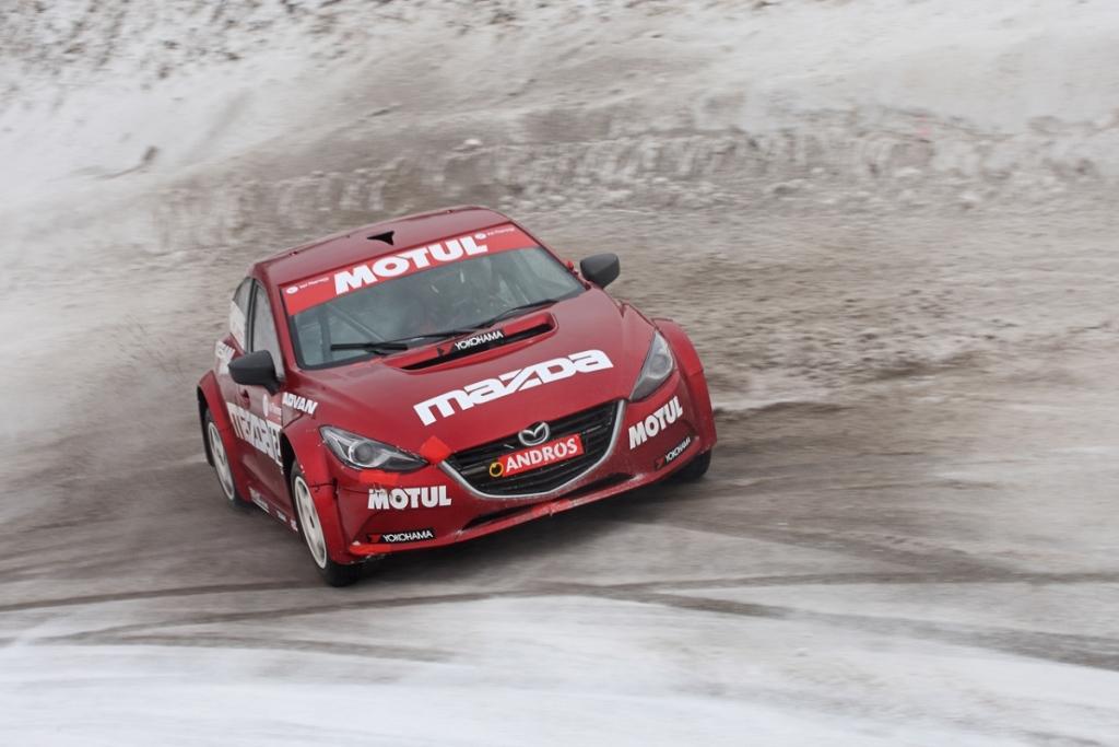 Trophée Andros 2015 - Val Thorens - Team Mazda