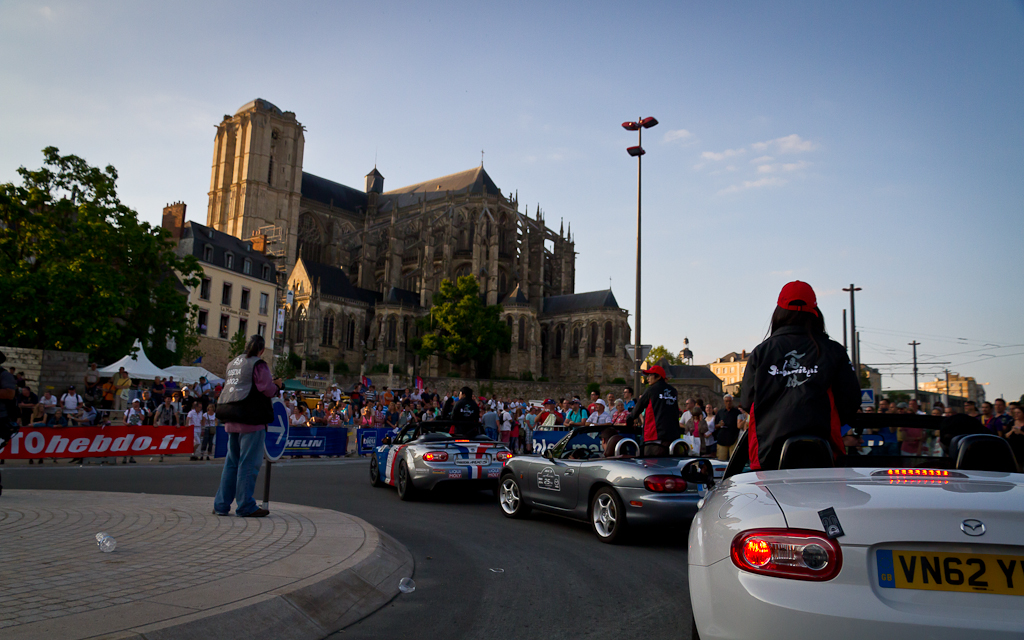 Parade Mazda MX-5 - 24 Heures du Mans 2014