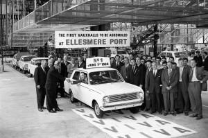 Vauxhall fête les 50 ans de son usine d'Ellesmere Port - 1964