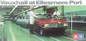 Vauxhall fête les 50 ans de son usine d'Ellesmere Port - 1973