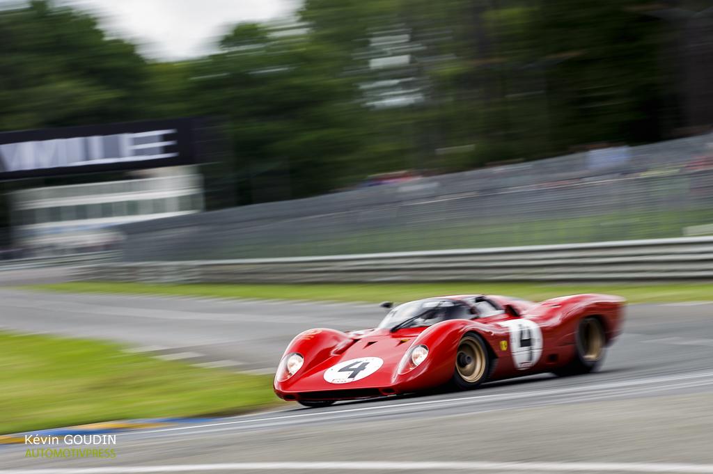 Ferrari 312P - Le Mans Classic 2014 - Arnage