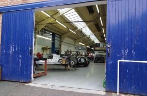 Visite usine Morgan