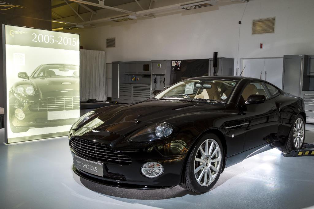60 ans d'Aston Martin à Newport Pagnell