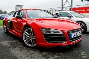 Essai Audi R8 V10 Plus & GT - Bilster Berg