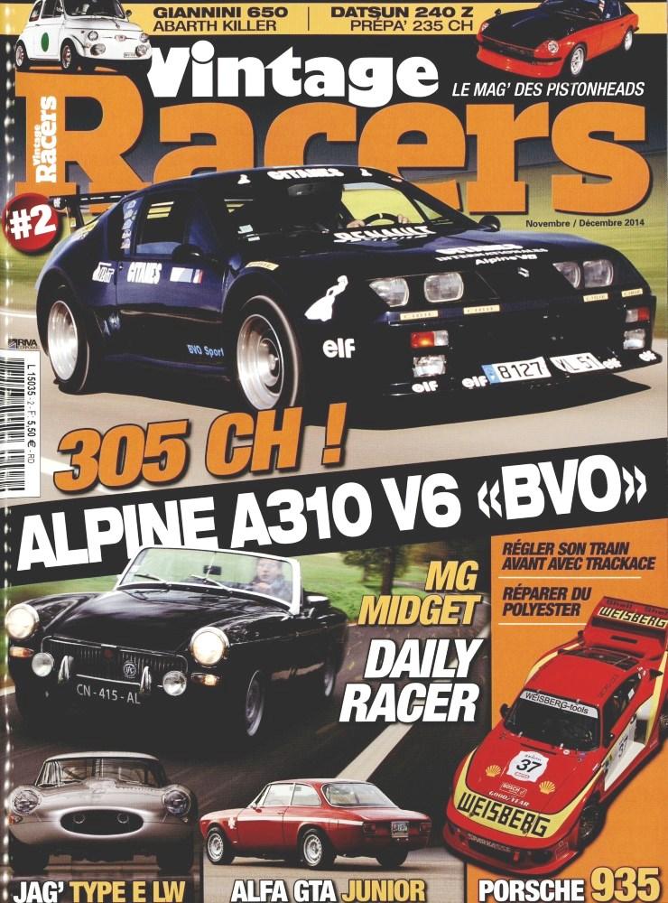 Vintage Racers magazine numéro 2