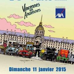 Vincennes en anciennes : La traversée de Paris le 11 janvier 2015
