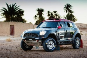 Mini Countryman All4 Dakar 2015