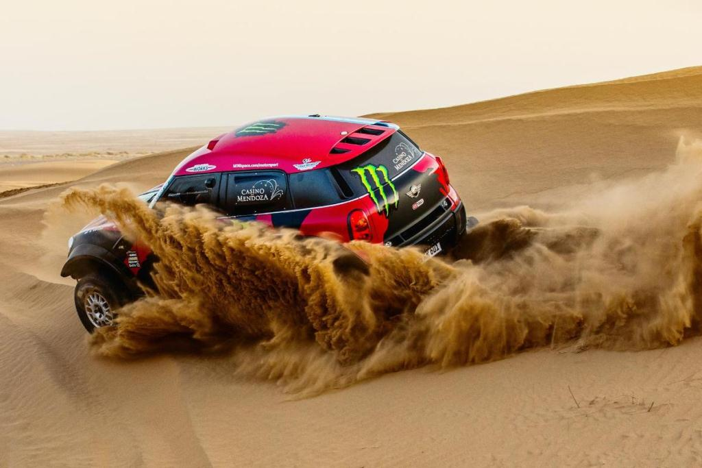 Mini Countryman All4 Dakar 2015