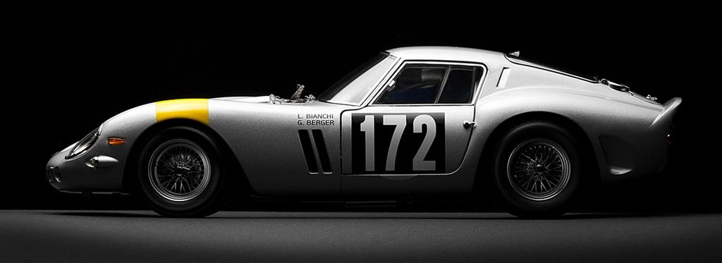 Ferrari 250 GTO #4153GT vainqueur Tour de France 64 - Lucien Bianchi et Georges Berger - Écurie Francorchamps