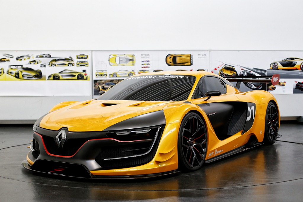 Genèse Renault R.S.01 Technocentre Rebault – Guyancourt, France 27 Septembre 2014. Photo Frederic Le Floc'h / DPPI