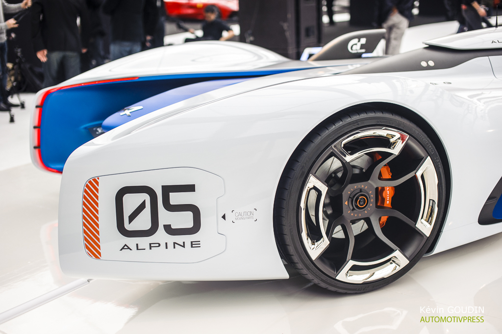 Festival Automobile International 2015 - Kevin Goudin - Alpine Vision Gran Turismo
