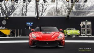 Festival Automobile International 2015 - Kevin Goudin - Ferrari F12 TRS
