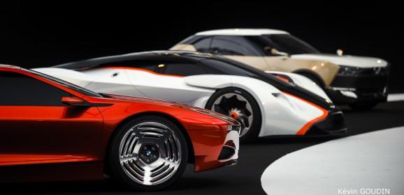 Festival Automobile International 2015 : Concept cars en photos par Kévin Goudin