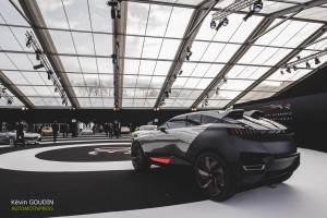 Festival Automobile International 2015 - Kevin Goudin - Peugeot Quartz