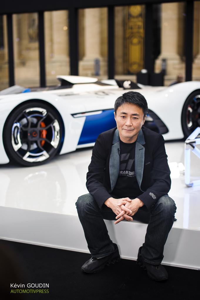 Festival Automobile International 2015 - Kevin Goudin - Kazunori Yamauchi & Alpine Vision Gran Turismo