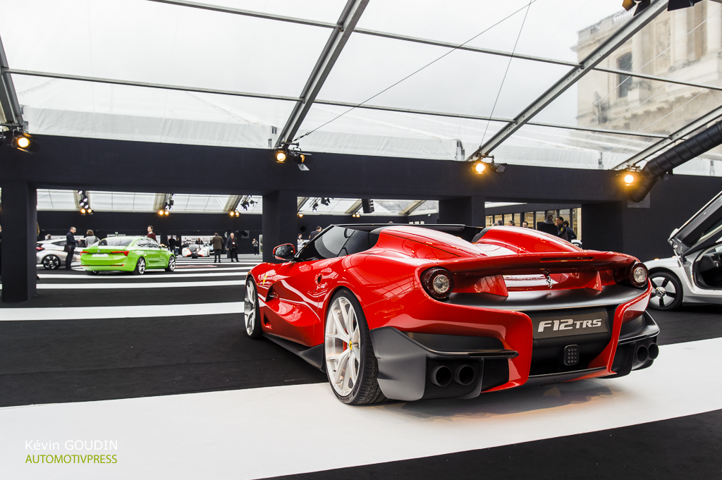 Festival Automobile International 2015 - Kevin Goudin - Ferrari F12 TRS