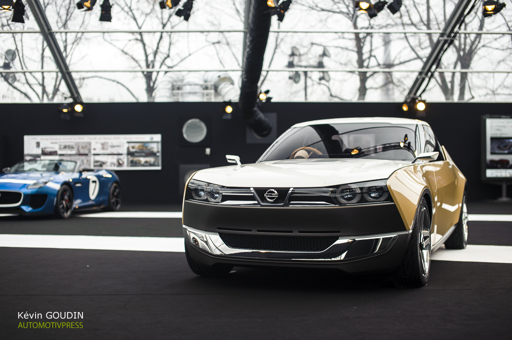 Festival Automobile International 2015 - Kevin Goudin - Nissan IDX FreeFlow