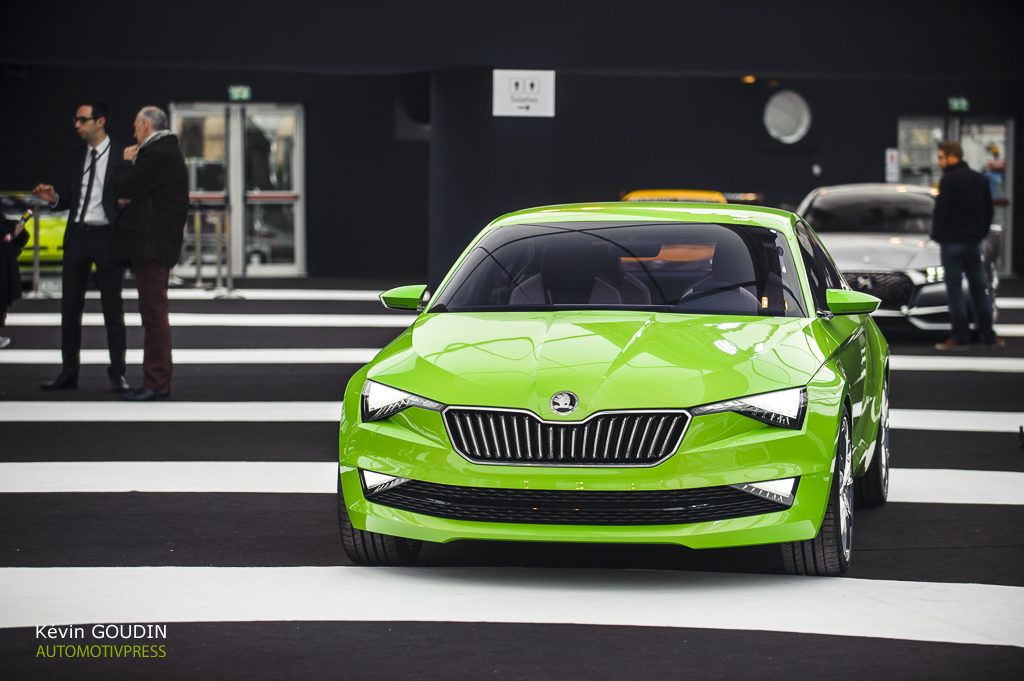 Festival Automobile International 2015 - Kevin Goudin - Skoda Vision C