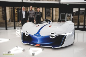 Festival Automobile International 2015 - Kevin Goudin - Bernard Ollivier, Kazunori Yamauchi & Alpine Vision Gran Turismo