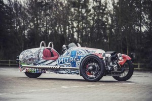 Morgan 3 Wheel Art - Popbang Colour