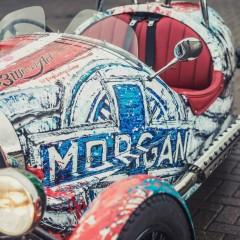 Morgan 3 Wheel Art par Popbang Colour