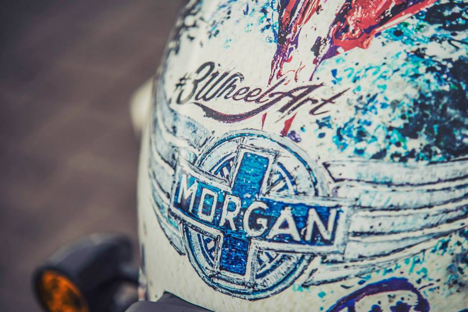 Morgan 3 Wheel Art - Popbang Colour