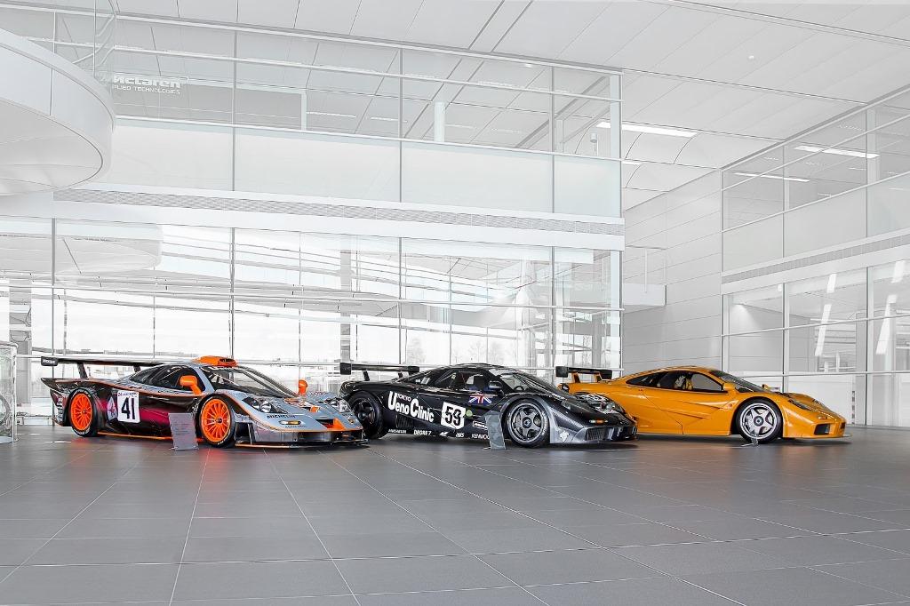 McLaren F1, F1 GTR #59 et F1 LM #44