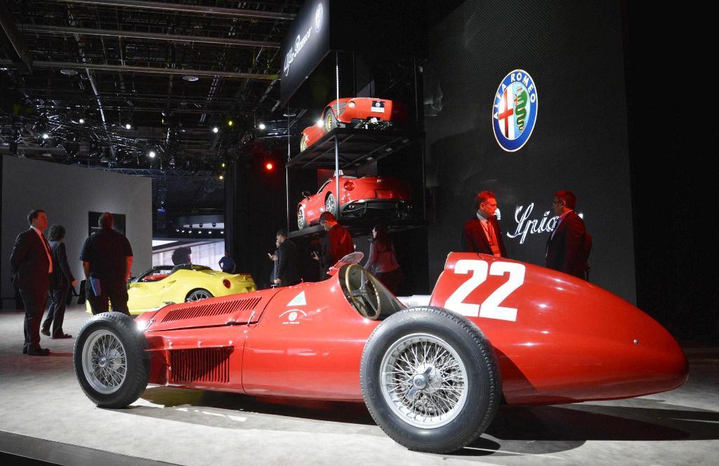 Alfa Romeo - Detroit 2015